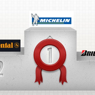 Barometer der  beliebtesten Reifenmarken Europas – Top 5 – Januar 2014