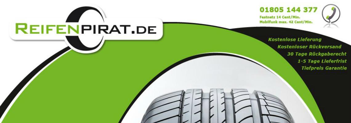 Reifenpirat.de: Tiefpreisgarantie für Online-Reifenkauf