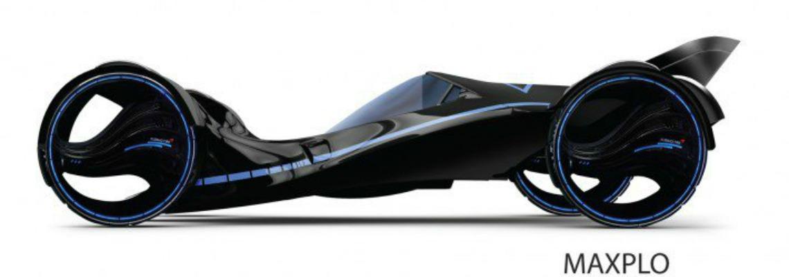 Der Maxplo-Reifen wurde für sein futuristisches Design ausgezeichnet